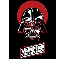 the Vampire Strikes Back Vader Photographic Print