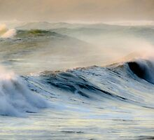 Rough Sea - Cape Palliser by Teodora Motateanu