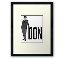 DON Framed Print