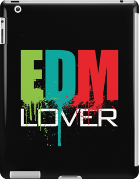 EDM (Electronic Dance Music) Lover (Black) by DropBass