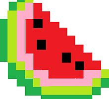 Minecraft Watermelon by callmeJkay