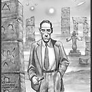 HP Lovecraft - Explorer of Strange Worlds by aglastudio