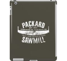 Packard Sawmill (Light logo) iPad Case/Skin