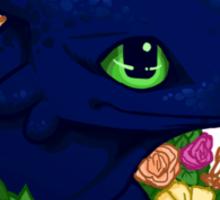 Flower Toothless Sticker