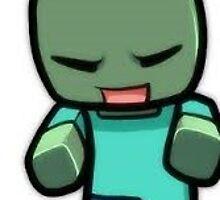 Minecraft Zombie by Wolfnox