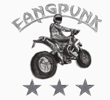 Supermoto T Shirt by Fangpunk