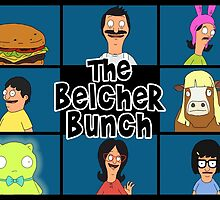 The Belcher Bunch - Bob's Burgers by LaurArt