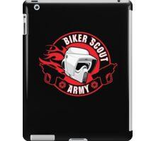BIKER SCOUT ARMY iPad Case/Skin