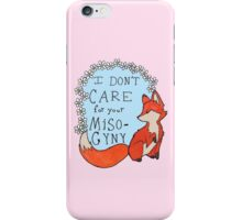 Feminist Fox iPhone Case/Skin