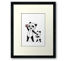 Panda Brothers Framed Print