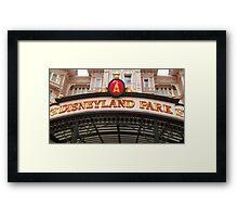 Disneyland Paris- Welcome Framed Print