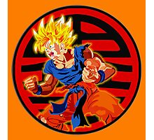 Super saiyan son goku Photographic Print