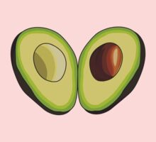 Avocado Heart Kids Clothes