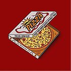 Ninja Pizza - Cool but Rude by BanzaiDesigns