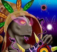 Skull Kid - The Legend of Zelda by someartdude