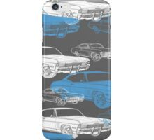Impala Cool Blue iPhone Case/Skin