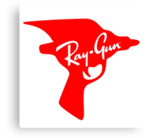 Ray Gun Canvas Print