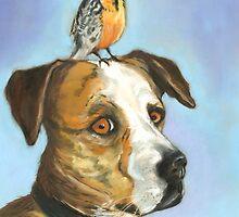Roscoe Put a Bird On It by Liz Thoresen