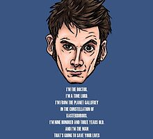 10th Doctor by Ben Farr