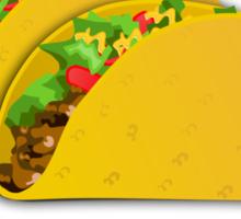 I Hate Tacos Sticker