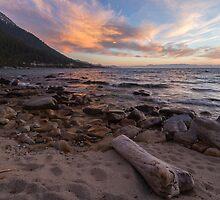 Dusk at Hidden Beach by Richard Thelen