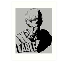 Marvel Cable - Nathan Summers Art Print