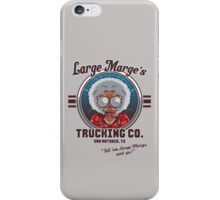 Large Marge's Trucking Co. iPhone Case/Skin