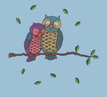 Blue Owls by Joshessel