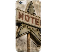 Vintage Grunge Star Motel Sign iPhone Case/Skin