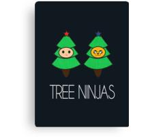 TREE NINJAS Canvas Print