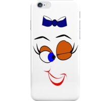 Face  :-Wink (4746 Views) iPhone Case/Skin