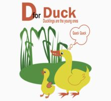 D for Duck  (8984 Views) by aldona