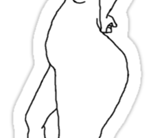 Tess - The Realistic Mannequin Sticker