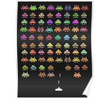 Fashionable Invaders Poster