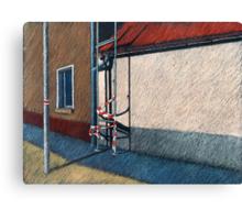 positiver Raum Canvas Print
