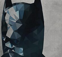 Geometric Batman by Likewater7
