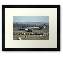 """Powderfinger"" Airbus A320 @ Avalon Airshow 2010 Framed Print"