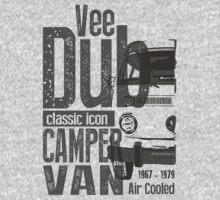 V-Dub Classic Camper Van T-shirt by NuDesign