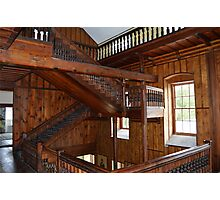 The 'Harry Potter' Staircase - Lissan House Photographic Print