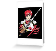 Ys - Adol Christin Greeting Card