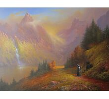 Gandalf and Beorn.(A Chance Encounter) Photographic Print