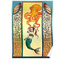 Seafaring with Cephalopod Poster