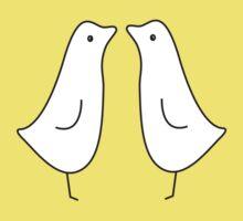 Penguin kiss by Jonmcnab