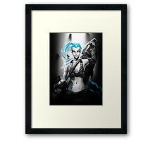 Jinx - League of Legends Framed Print