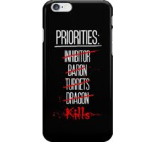 Priorities iPhone Case/Skin