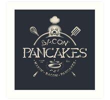 Bacon Pancakes Art Print