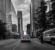 Canadian police car Vancouver by leightoncollins