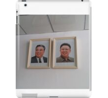 Portraits of the North Korean Leaders iPad Case/Skin