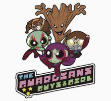 Powerpuff Guardians Kids Clothes