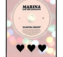 Marina and the Diamonds: ELECTRA HEART PASTEL BOKEH by necrophile